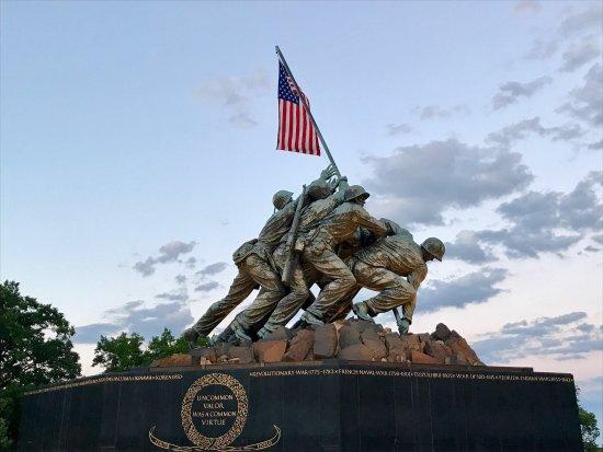 U.S. Marine Corps War Memorial : photo0.jpg