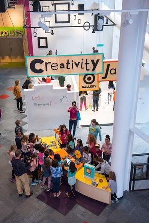 Minnesota Children's Museum: Creativity Jam exhibit