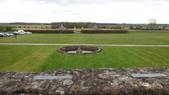 Northleach, UK: View to the entrance