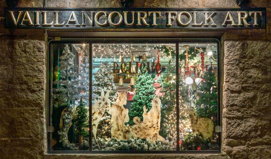 Nestled in rural Sutton, MA, Vaillancourt's retail gallery, museum, and studio offers Christmas.