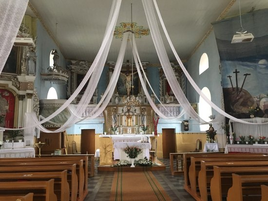 Zidikai, Litauen: St. John the Baptist Church