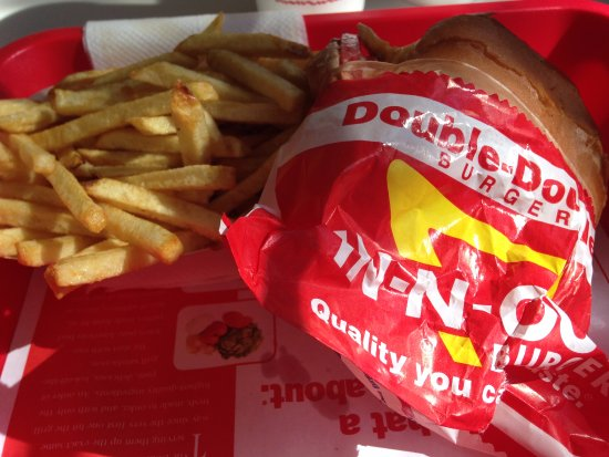 Newbury Park, CA: Double Double Cheese Burger