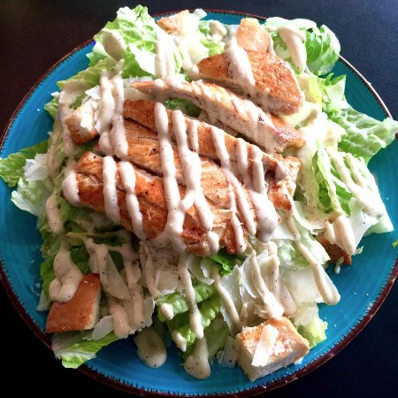 Hackettstown, นิวเจอร์ซีย์: Grilled Chicken Caesar Salad