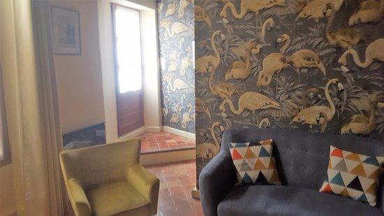 """L'Ancienne Cure: salon de la suite """"cottage"""""""