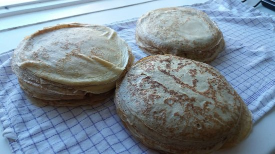 Flateyri, Iceland: Pancakes
