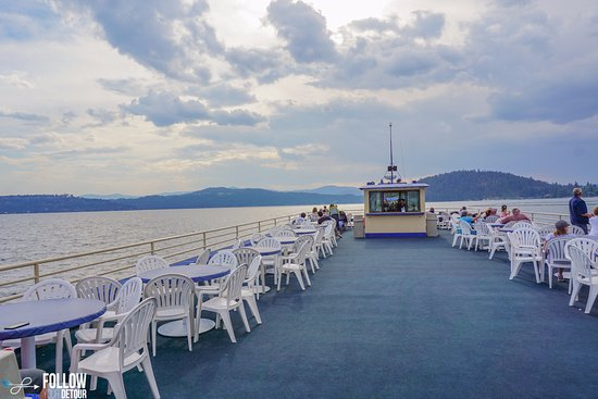 Lake Coeur d Alene Cruises: Lake Coeur d'Alene Cruises...a