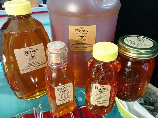 Lebanon, OH: Only delicious local honey sold here!