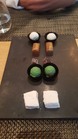 Links House at Royal Dornoch Restaurant: friandises
