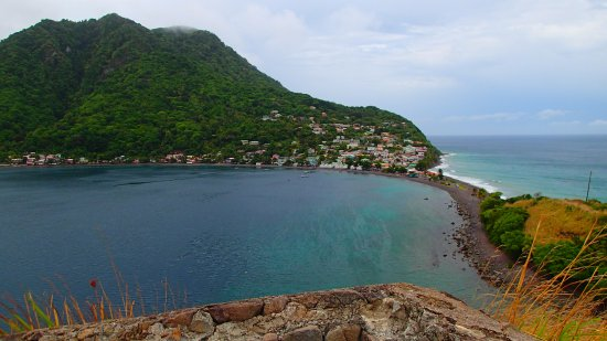 Scotts Head, Dominica: View from the top