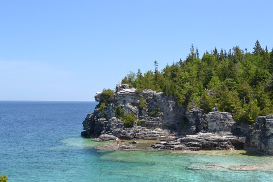Tobermory, Canadá: Grotto