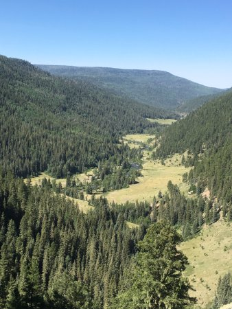 Crazy Horse Outfitters and Guides - Day Tours: A view from the top!