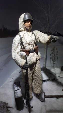 Museum Eyewitness WW2 - Winter 1943, German paratrooper
