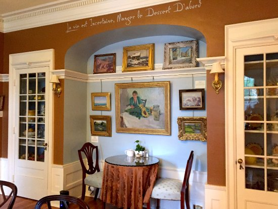 Common area, Juniper Hill Bed & Breakfast, Trumansburg, NY.