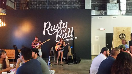 North Charleston, Caroline du Sud : Rusty Bull Brewing Co.