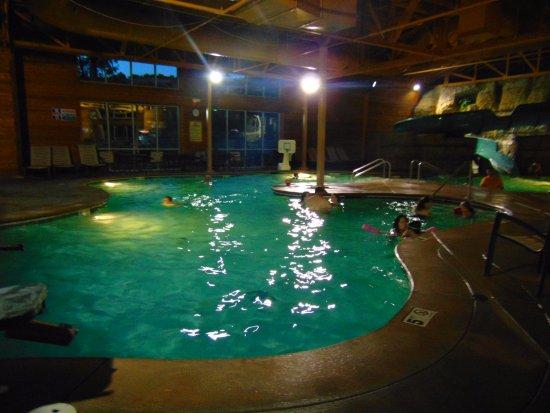 Nighttime The Pool Indoor Picture Of Welk Resort