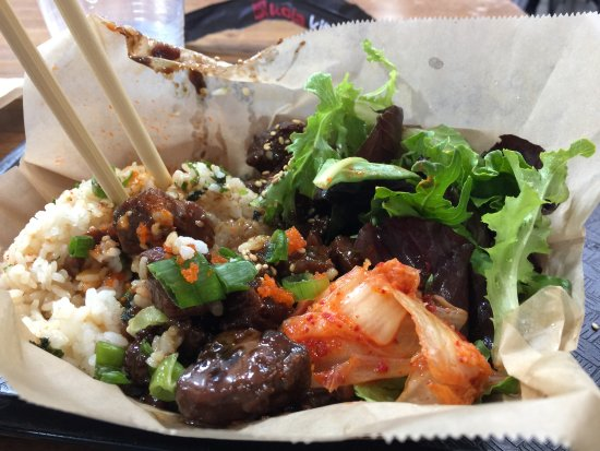 short rib bowl Picture of Koja Kitchen Emeryville TripAdvisor