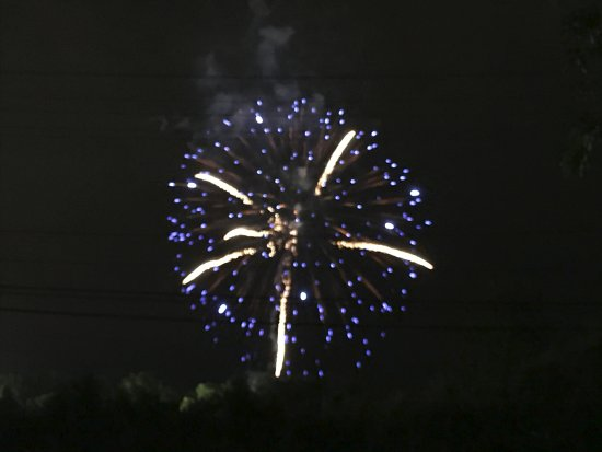 Bear, DE: Fireworks over the St. Elizabeth Ann Seton carnival 2017