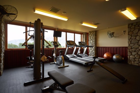 Windwhistle, Neuseeland: On Site Gym