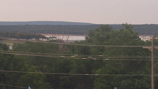 Mannford, OK: A veiw from the upstairs deck