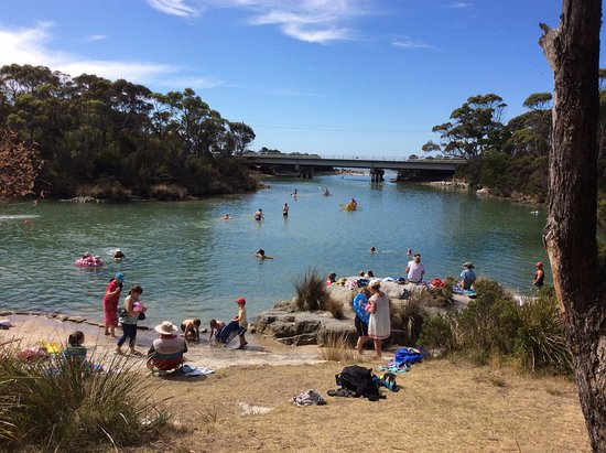 Crayfish Creek, Australien: Summer time activities