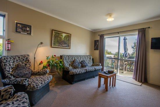 Te Aroha, نيوزيلندا: Lounge/Dining/Kitchenette