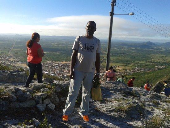 subida de fé a monte santo