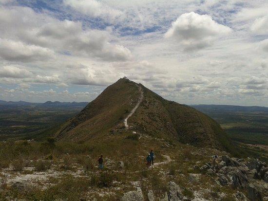 no alto da serra da cruz de Monte Santo - BA.