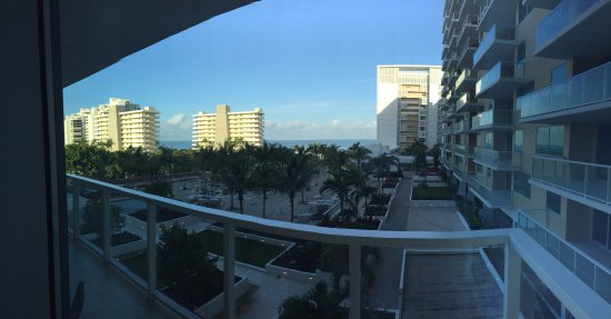 Marriott's Crystal Shores: view from balcony on 4th floor