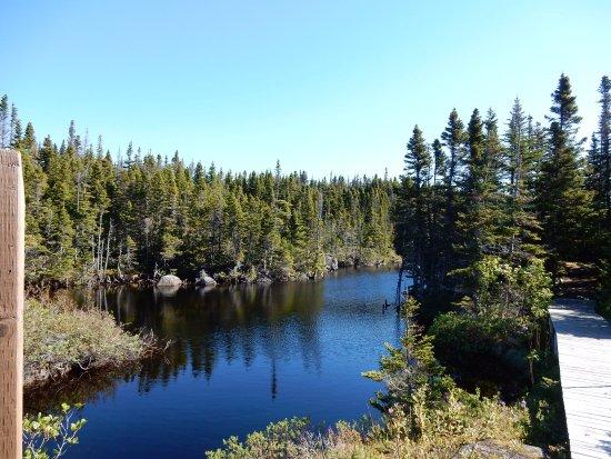 Fogo Island, Canada: stille Bergseen