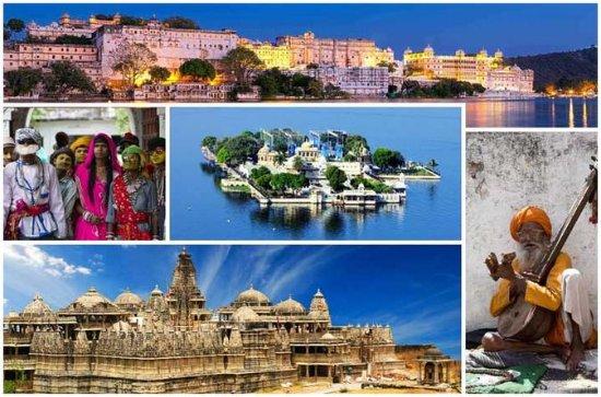 Tour de 2 días por Udaipur y Ranakpur