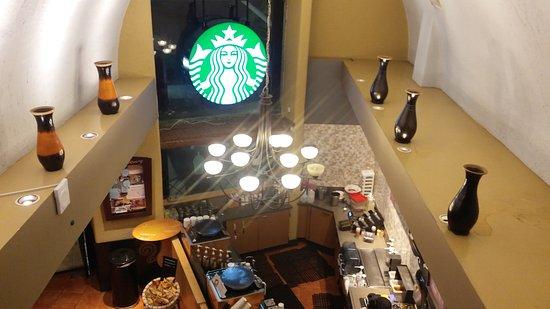 Plaza Playacar: Starbucks en el condominio Playacar de Playa del Carmen