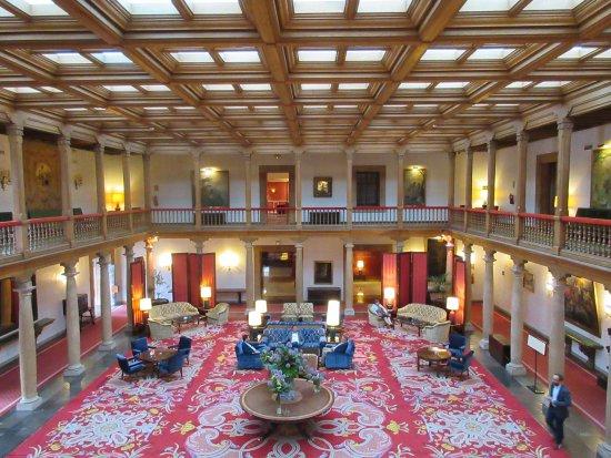 Eurostars Hotel de la Reconquista: The lobby area