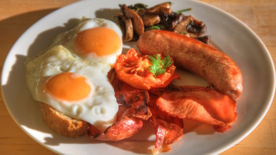 Dover, ออสเตรเลีย: Hot breakfast cooked to order