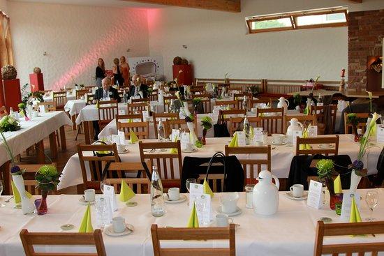 Tischdeko Im Rahmen Einer Privaten Veranstaltung Bild Von
