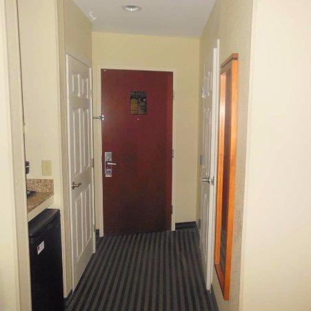 Comfort Suites Leesburg: Walk-in hallway