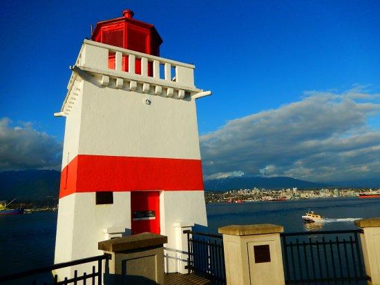 Brockton Point Lighthouse: the lighthouse