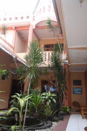 Monica Hotel: mini garden