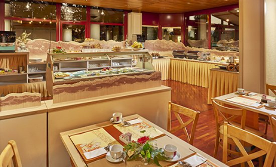 Au Parc Hotel Fribourg: Buffet de Petit-déjeuner