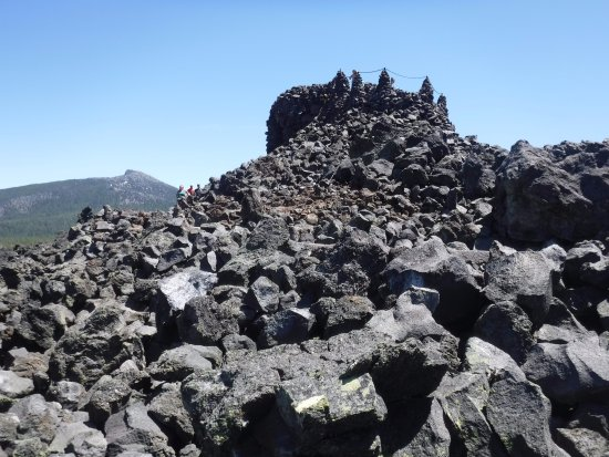 Blue River, OR: Dee Wright Observatory