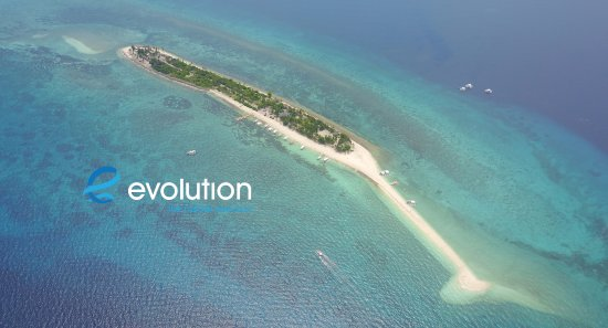 Evolution Diving : Kalanggaman is a fantastic day trip when staying at Evolution. Great diving and an amazing sand