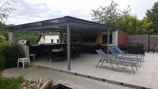 Koi Teich Picture Of La Forge Gourmande Hochstatt Tripadvisor