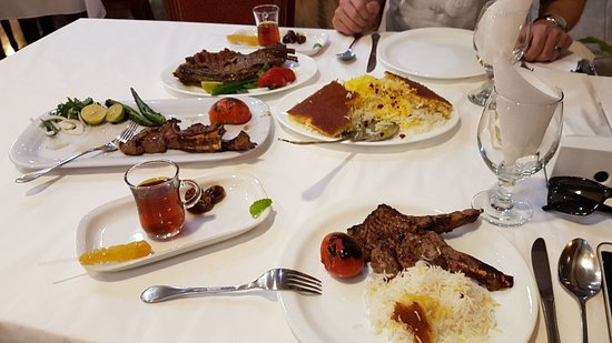 Saffron rice is amazing! - Review of Shandiz, Muscat, Oman - TripAdvisor