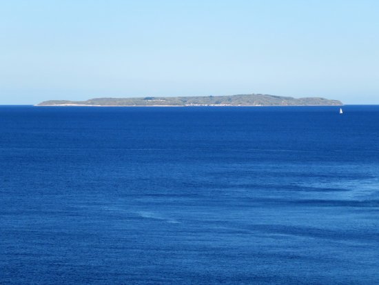 Susak Island from Mali Lošinj
