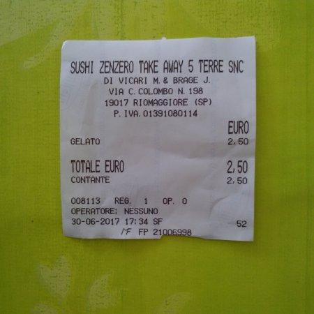 Sushi Zenzero 2 Take Away 5 Terre Photo