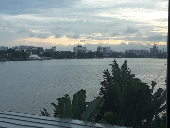 Radisson Blu Anchorage Hotel, Lagos: View across lagoon