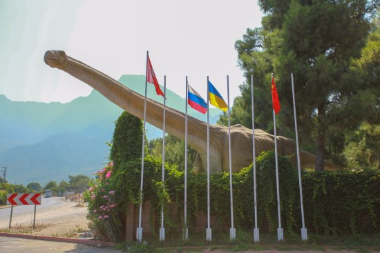 Goynuk, Tyrkia: Dinopark giriş