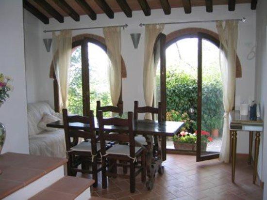 """Dicomano, Włochy: salotto della piccola casa """"La Quercia"""""""