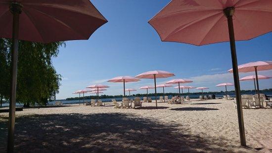Fijn strandje