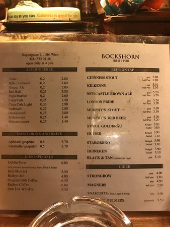 Photo4jpg Picture Of Bockshorn Irish Pub Vienna Tripadvisor