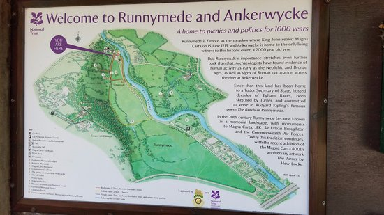 Runnymede National Trust Egham England What To Know
